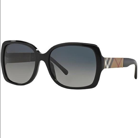89374674a8f6 Burberry Luxottica Black Sunglasses